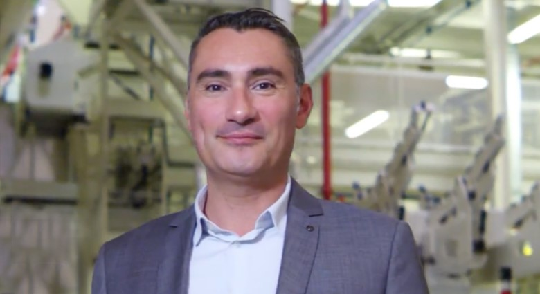 Sebastien Gies, Manager, New Aircraft Acceptance and Delivery