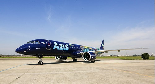 AerCap Delivers First Embraer E2-195 to Azul