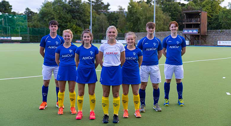 AerCap Sponsors Leinster Hockey Irish Team